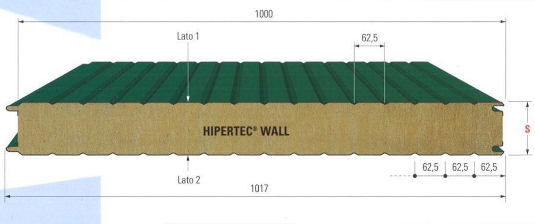 Pannello per parete HIPERTEC WALL pordenone