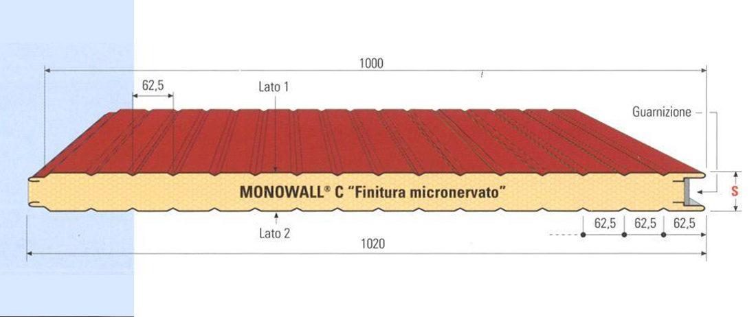 Pannello per parete MONOWALL