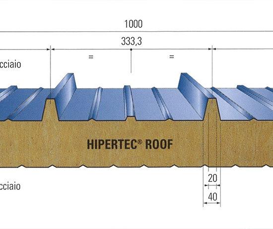 Pannello per copertura HIPERTEC ROOF monfalcone friuli